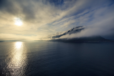 Morning in the Norwegian sea, Alesund Norway Scandinavia
