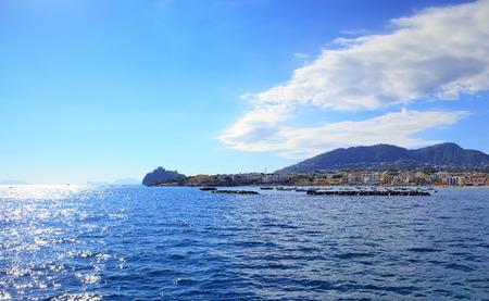 Morning in Ischia Ponte, Ischia island - Italy Stock Photo