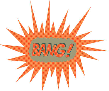 Bang  Comic book explosion Vector