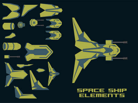 spaceship: Game Spaceship Creation Kit