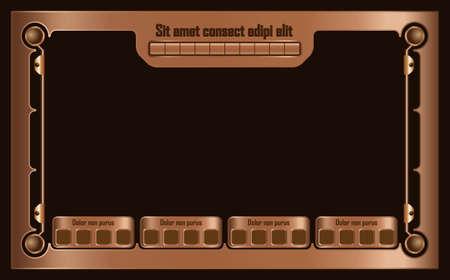 metallic: video game metallic elements