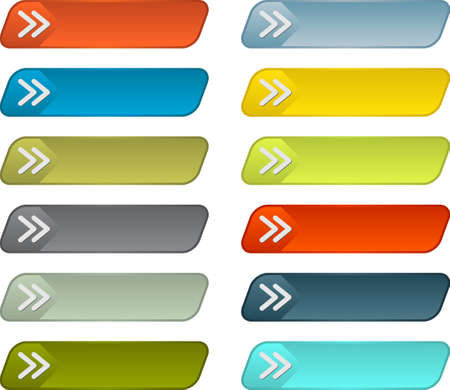 web buttons: Simple web buttons pack