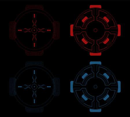 sci fi: Sci fi target pack