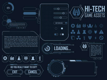 elements for strategy space video game