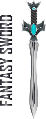 fantasy sword: Fantasy sword illustration