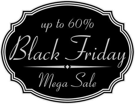 Black friday sales badge