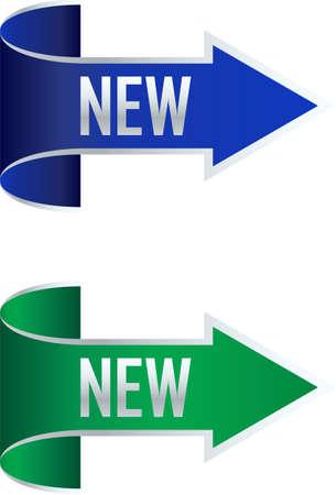 new arrow: banner new arrow illustration