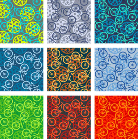 Bike chainring and bikes pattern pack