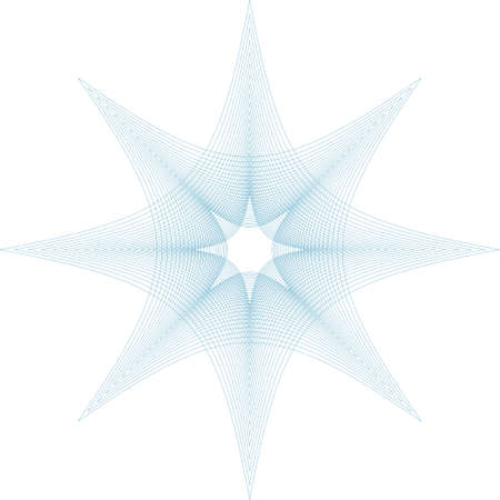 Editablbe gullioche vector pattern