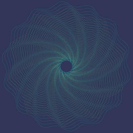 Editable guilloche vector pattern 矢量图像