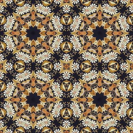 marquetry: Abstract seamless artistic pattern