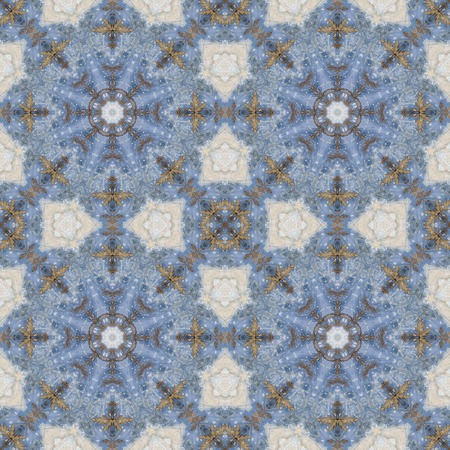 inlay: Abstract artistic seamless pattern