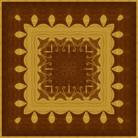 marquetry: Seamless background, wooden veneer marquetry, abstract artistic pattern