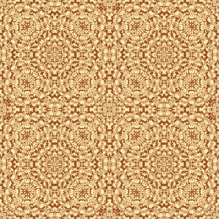 buff: Seamless Background, Abstract Brown and Yellow Pattern.