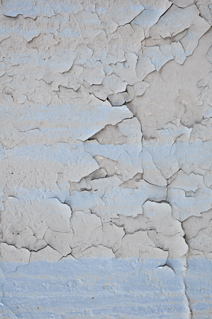 spoilage: Texture of Dirty Wall with Peeling Old Oil Paint