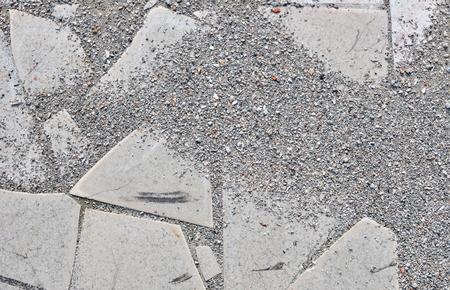 spoilage: Texture of Old Broken Damaged Glaze Dalle Stock Photo