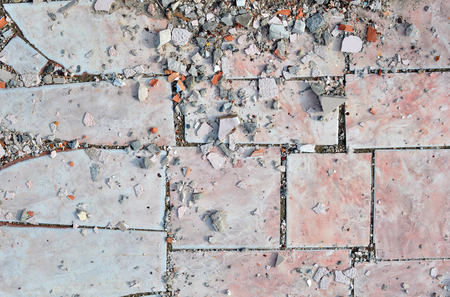 spoilage: Texture of Old Broken Damaged Glaze Dalle Stock Photo