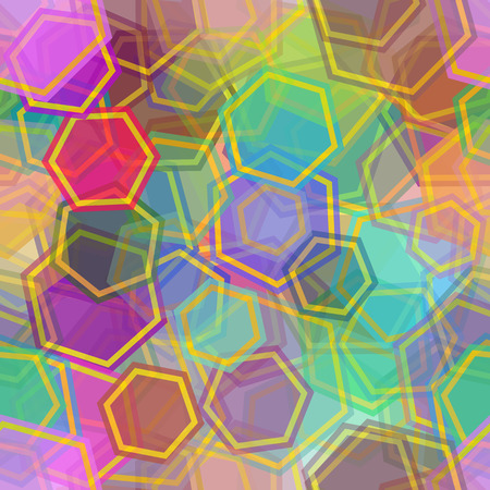 Colorful geometric pattern.