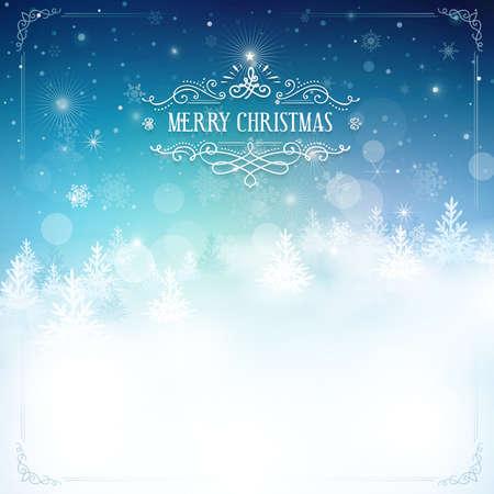 fondo: Eps10 Ai. Archivo agrupados y en capas. Navidad