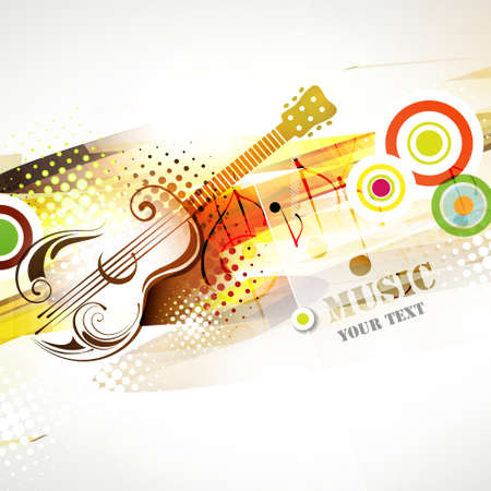 music background: Abstract illustration background