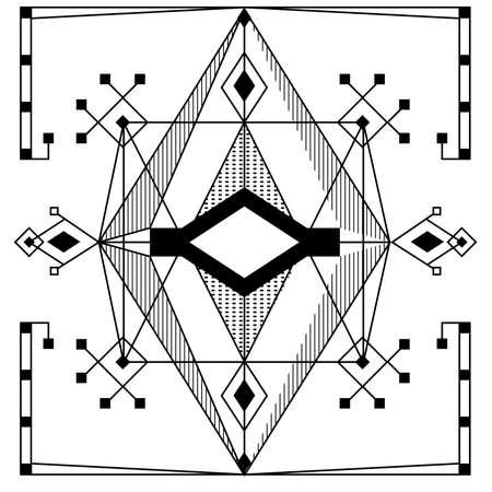 are modern: Modern geometry pattern.