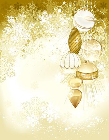 grouped: Beautiful christmas background. Ai eps 10. File grouped and layered.