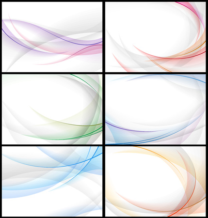 grouped: wavy abstract background. Ai eps 10. File grouped and layered.
