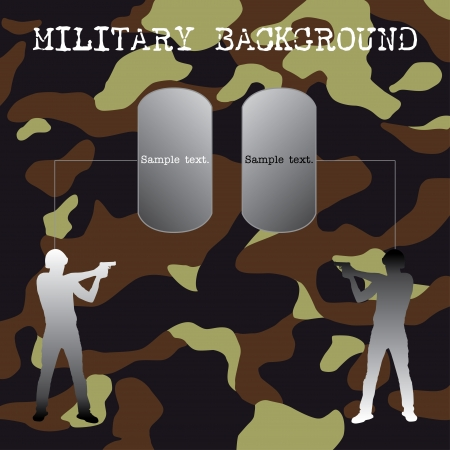 army man: Military background