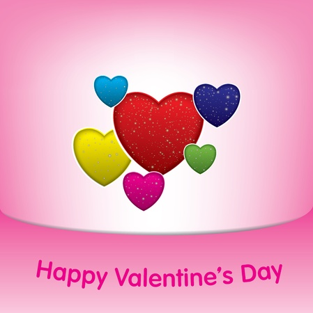 Valentines Day Background Stock Vector - 20662782