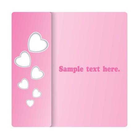 romantic card Illustration