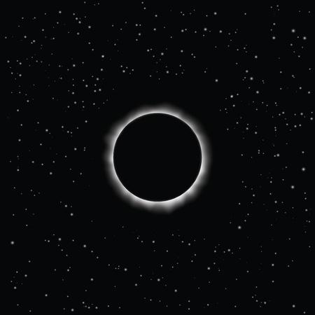 Solar eclipse Stock Vector - 20663441