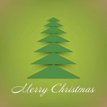 Рождественская елка фон Вектор
