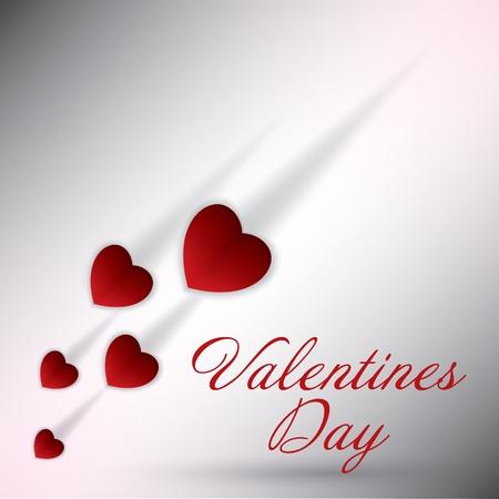 День Святого Валентина фона Иллюстрация