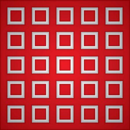 Red square background Illustration