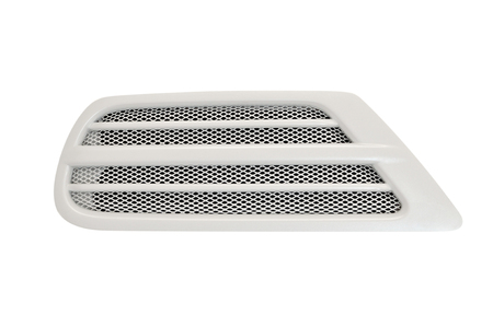 Car ventilation isolated on white background