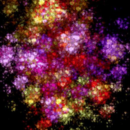 Colorful festive confetti background  photo