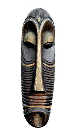 Indian Mask  Isolated on white background
