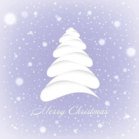 Merry Christmas greeting card  Vector EPS10