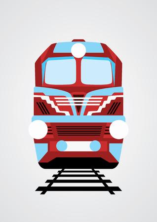 Поезд иллюстрации