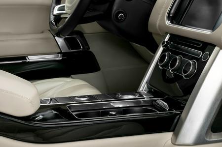 Modern car interior  Horizontal