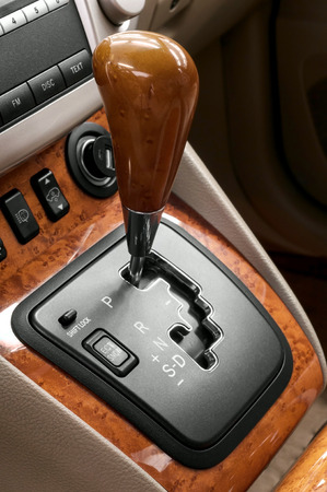 Automatic transmission gear shift  photo