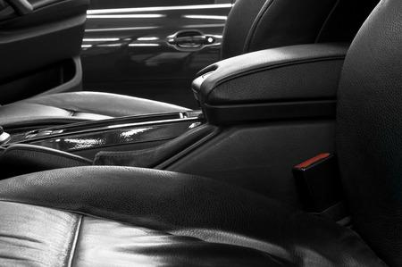 Auto interior detail  Stock Photo