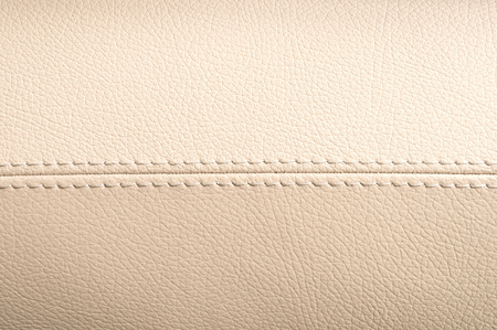 Car interior leather texture. Horizontal photo.