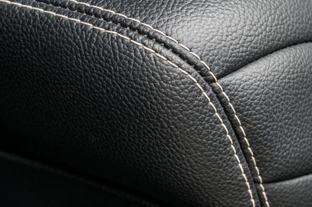 nervure: Modern business car interior detail. Leather background.