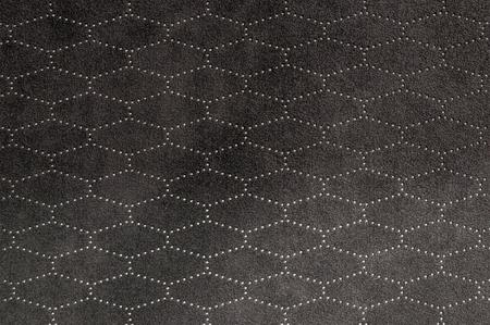 saddler: Car seat leather background. Interior detail.