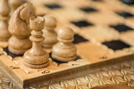 Chess background. Business concept.
