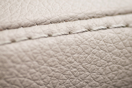 nervure: Macro leather background. Detail of car interior. Stock Photo