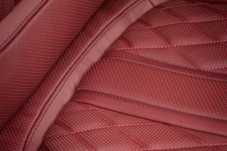 saddler: Car leather material. Macro photo.