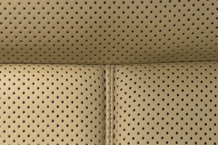 nervure: Leather background. Detail of car seat. Macro photo.