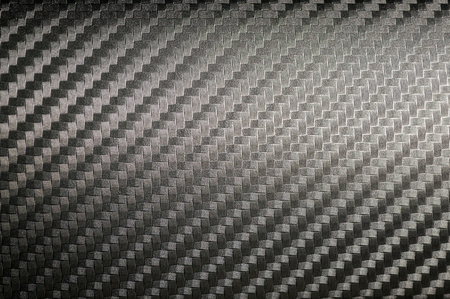 Carbon texture abstract background. Car interior detail. Stock Photo